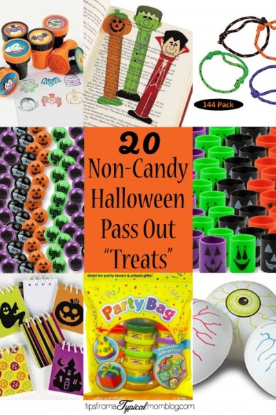 20 Ideas for Non-Candy Halloween Pass Out Treats