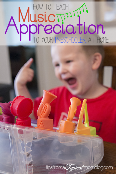 How to Teach Music Appreciation to your Preschooler at Home