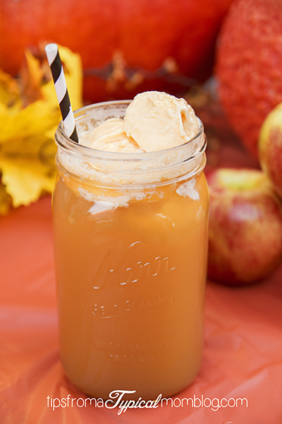 Apple Pie a la Mode Float and Sunkist TEN Soda Cupcakes