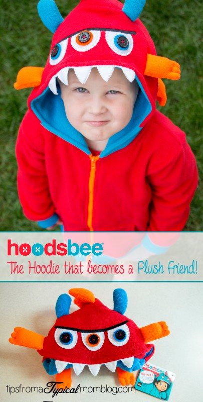 hoodsbee the hoodie that becomes a plush friend