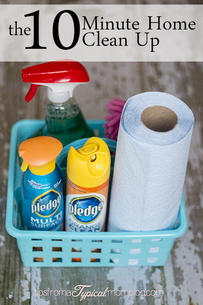 The 10 Minute Home Clean Up
