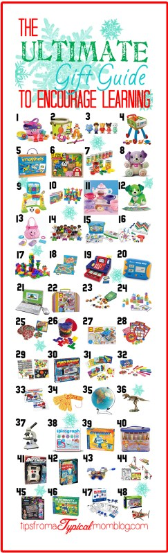 Christmas Gift Guide to Encourage Learning