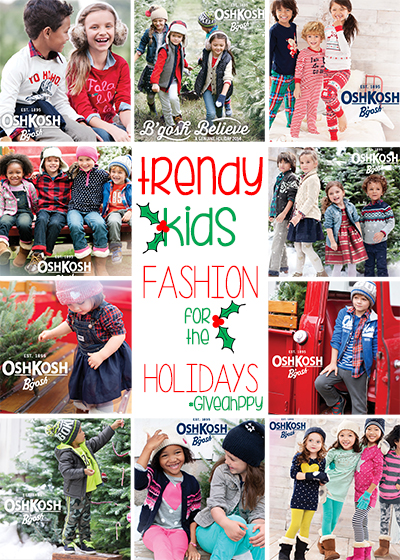 Trendy Kids Fashions for the Holidays #GiveHappy