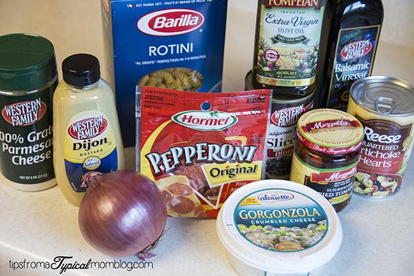 Hormel Pepperoni Mediterranean Pasta Dinner
