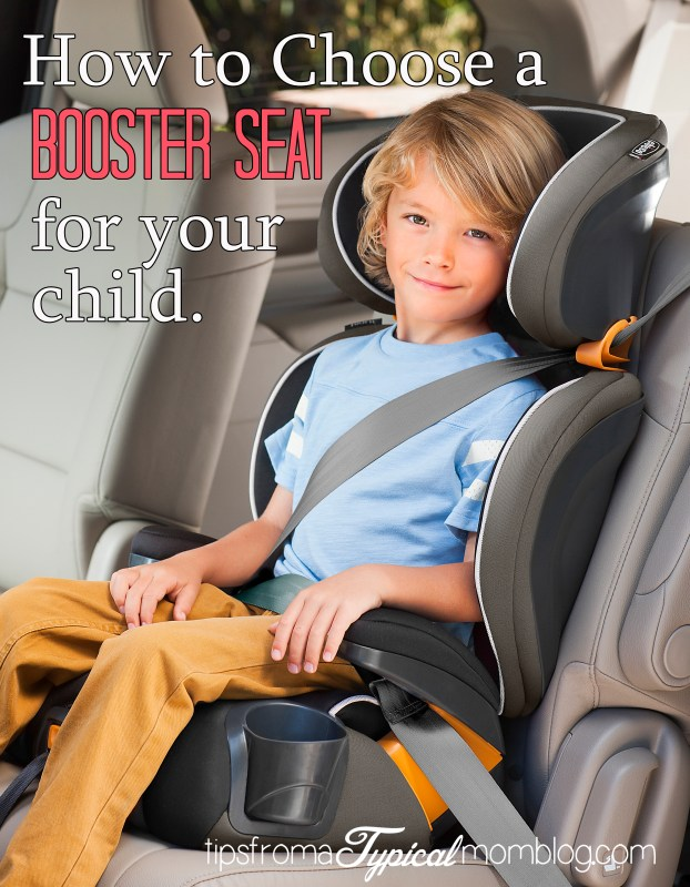 How to choose a booster Seat for your child