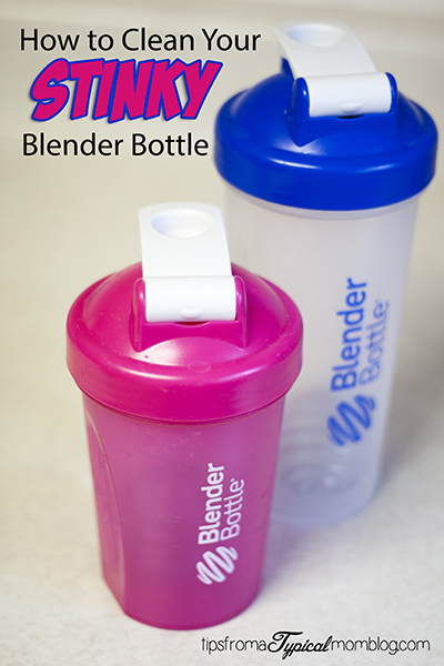 How to Clean Your Stinky Blender Bottle