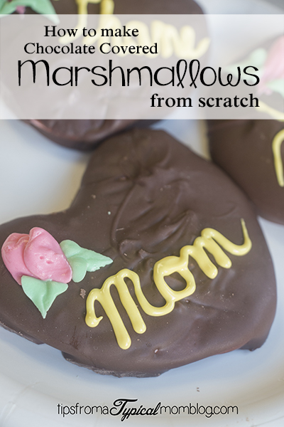 Nana's Homemade Chocolate Covered Marshmallow Hearts
