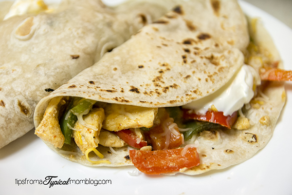 Chicken Fajitas with Homemade Fajita Seasoning