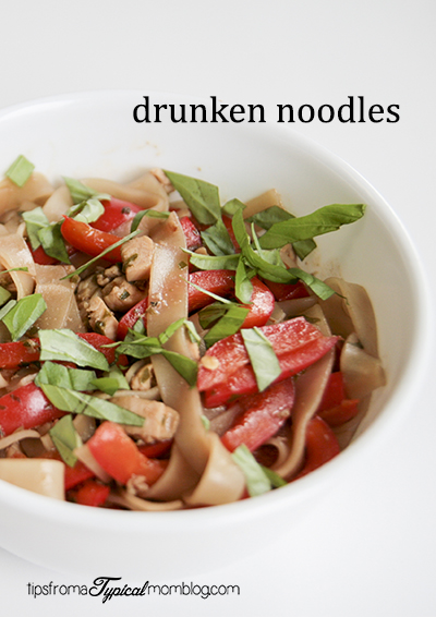 Drunken Noodles Recipe- Pad Kee Mao