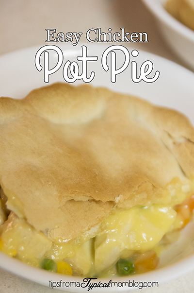 Easiest Chicken Pot Pie for Pi Day