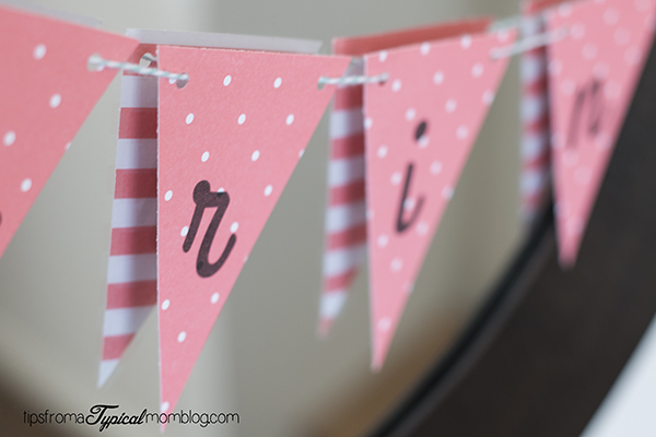 How to make a spring banner