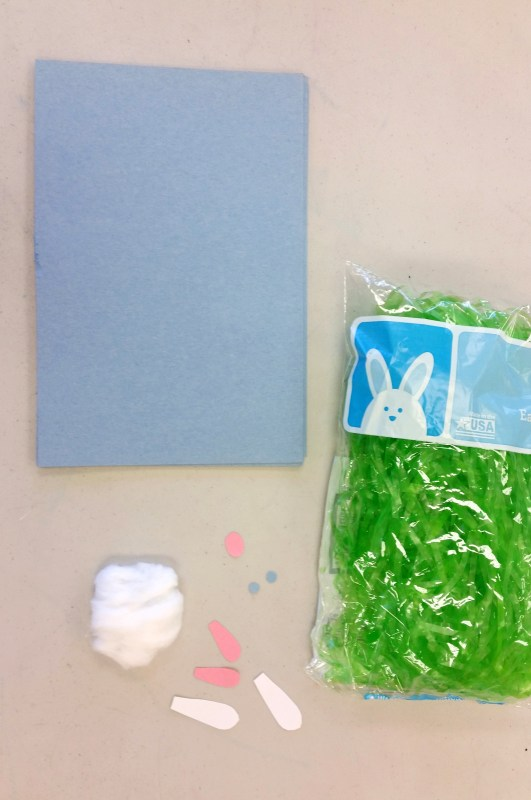 Easter bunny craft for kids