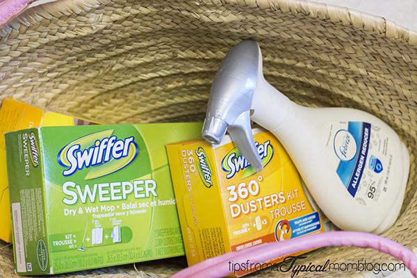 Swiffer and Febreze
