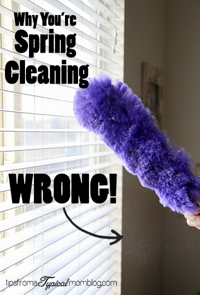 Why You're Spring Cleaning Wrong