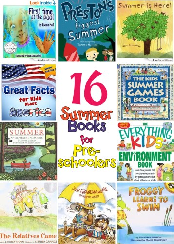 16 Summer Books for Preschoolers