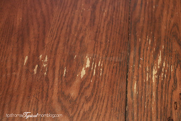 Quick Fix for damaged dining wood tables. Quick Fix for Water Damaged Wood Dining Room Tables