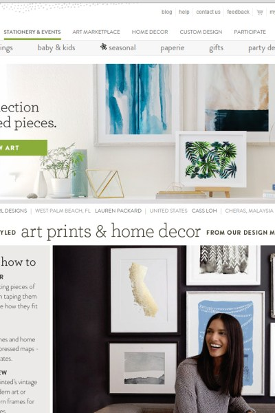 Minted.com- The Perfect Gift