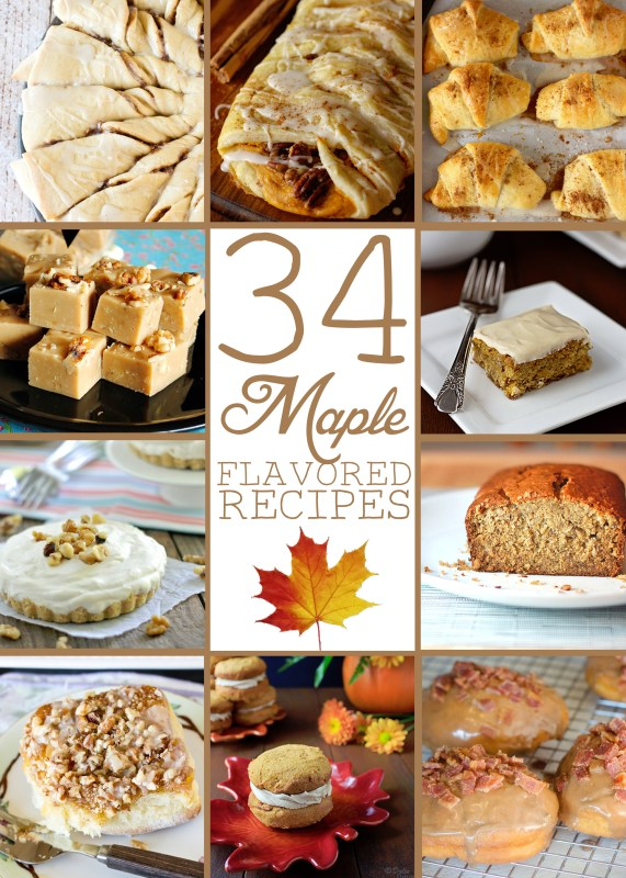 34 Maple Flavored Recipes
