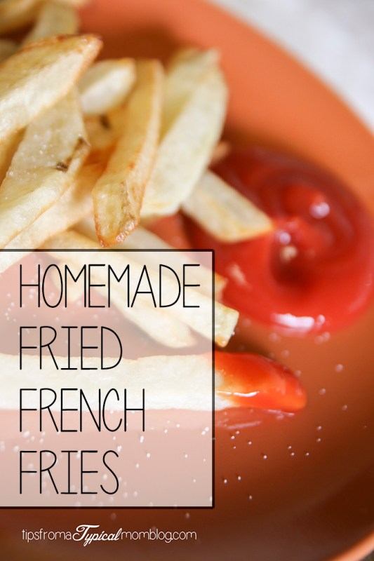 Homemade Fried French Fries