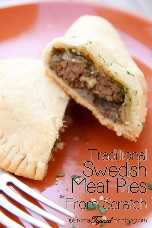 Swedish Meat Hand Pies from Scratch