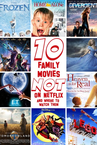FROZEN and 9 Family Friendly Movies That Aren't on Netflix~ & HOW WATCH THEM INSTANTLY