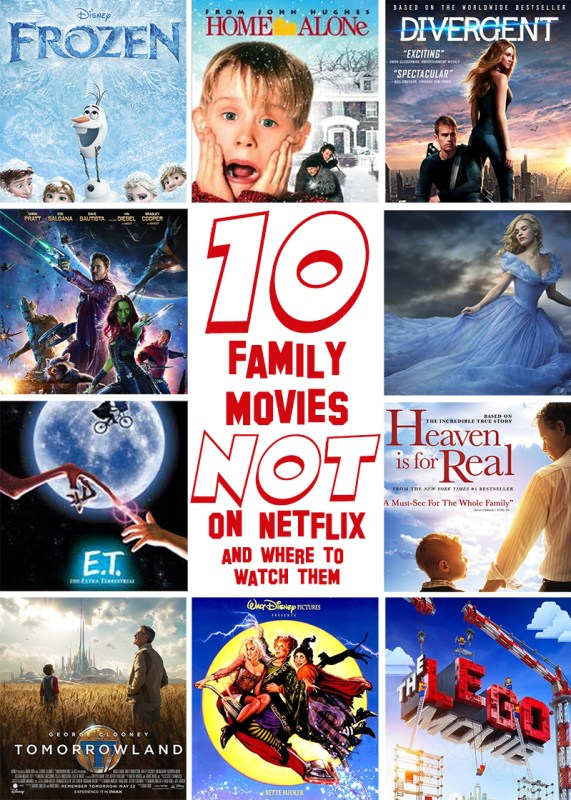 10 Family Friendly Movies That Arent On Netflix And Where You Can