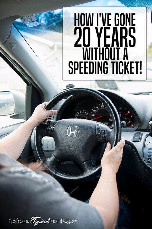 How I've Gone 20 Years Without a Speeding Ticket
