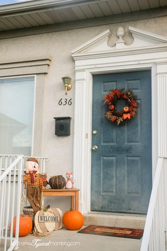 Fall Porch Reveal