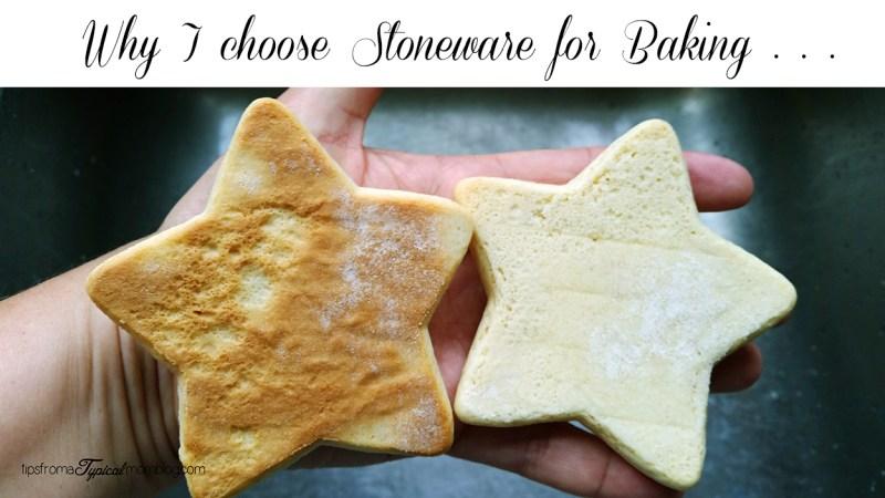 Why I choose stoneware for baking