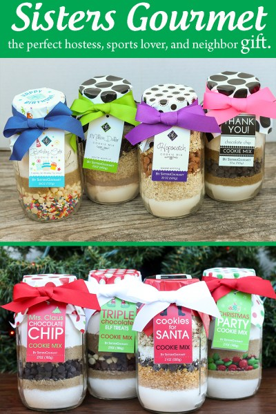 Sisters Gourmet Cookie Mixes~ The Perfect Neighbor, Hostess, and Sports Lover Gift