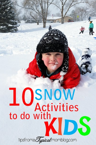 10 Fun Snow Activities to do with Kids