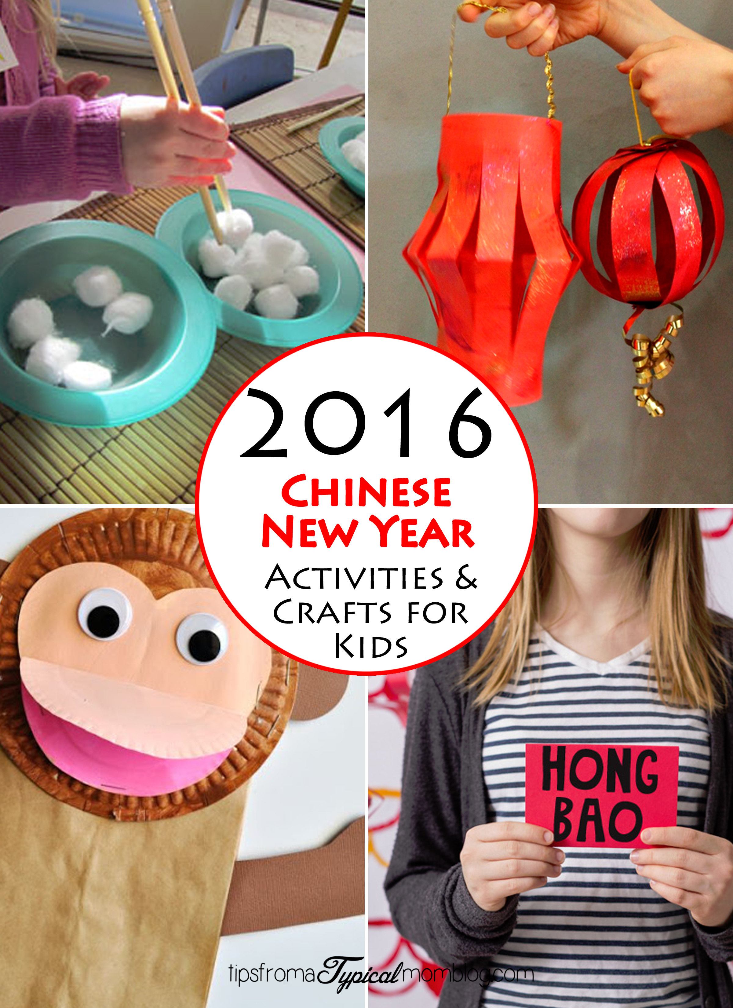 Chinese New Year Activities And Crafts For Kids
