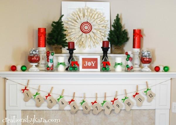 14 Holiday Mantel Decorating Ideas