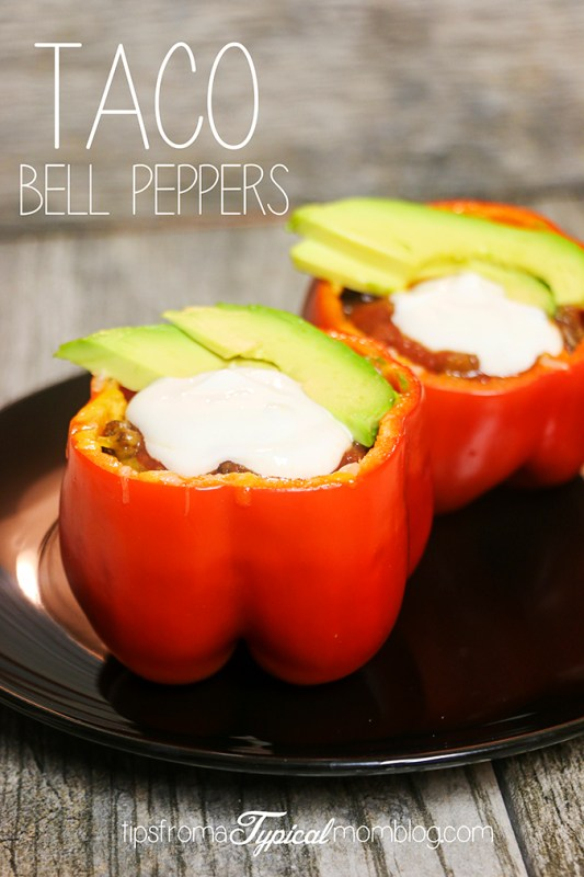 Taco Stuffed Bell Peppers Recipe Video