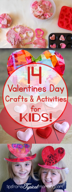 14 Valentines Day Crafts and Activities for Kids