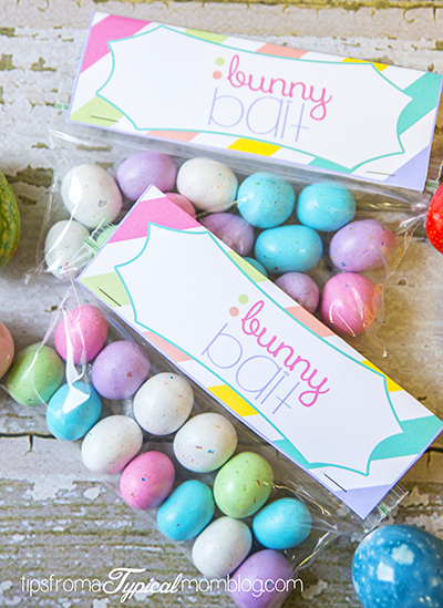 Easter Bunny Bait Free Printables