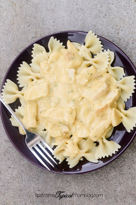 Easy and Creamy Dijon Chicken with Bowties