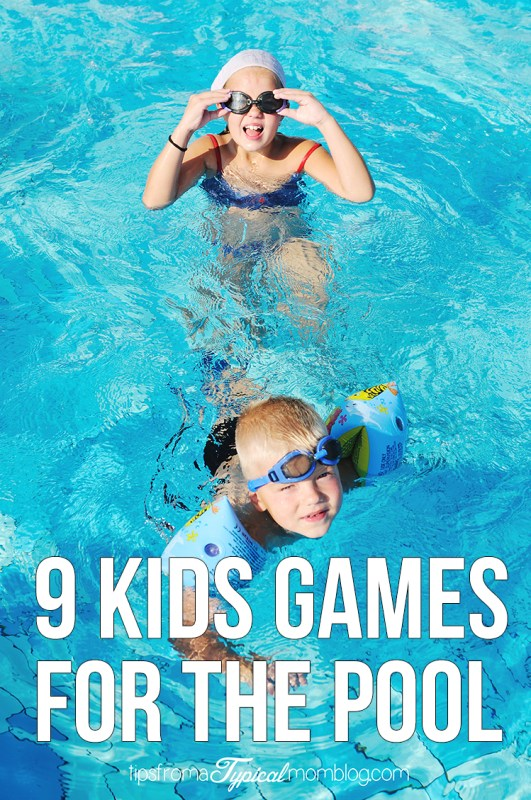 9 Kids Games for the Pool