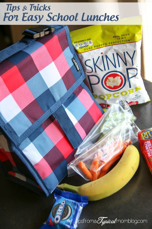 Tips and Tricks for Making School Lunches Easy