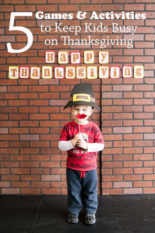 5 Games and Activities to Keep Kids Busy this Thanksgiving
