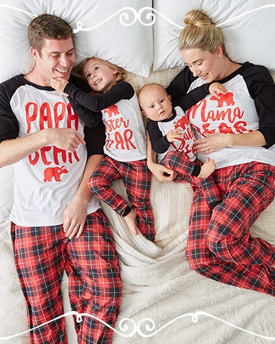 Holiday Pajamas for the Whole Family- A Christmas Tradition