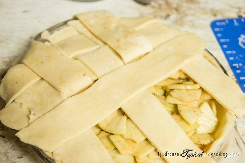 Old Fashioned Lattice Apple Pie