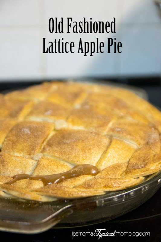 Old-Fashioned Apple Pie with Lattice Crust