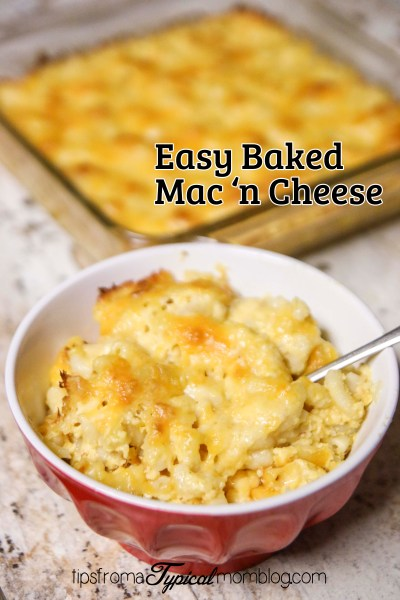 Easy Homemade Baked Macaroni and Cheese