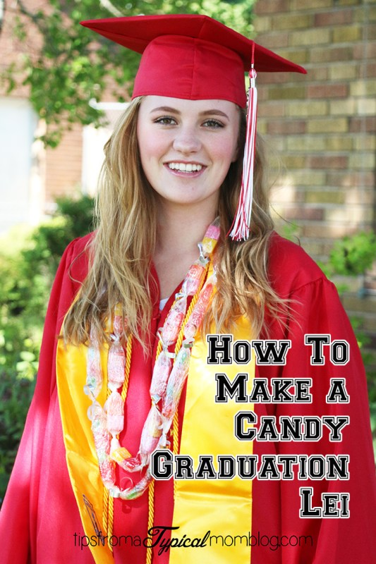 How to make a candy graduation lei