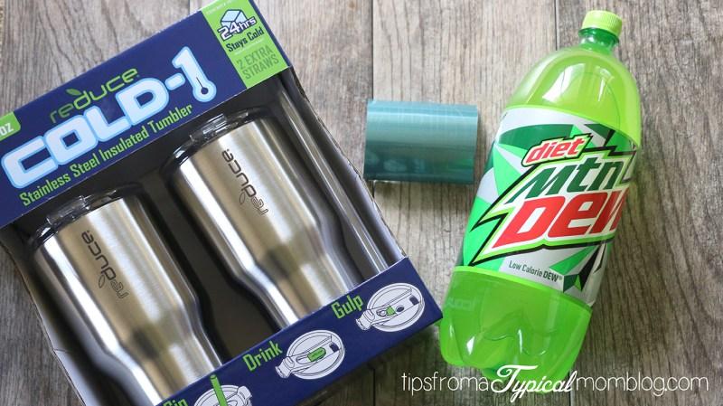 DIY Monogram Water Bottle Gift for Teachers