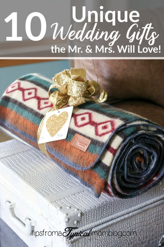 10 Unique Wedding Gifts the Mr and Mrs will Love