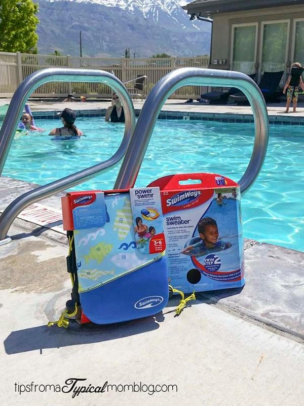 How do I teach my child to swim