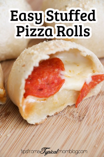 Easy Stuffed Pizza Rolls Made with Rhodes Roll Dough