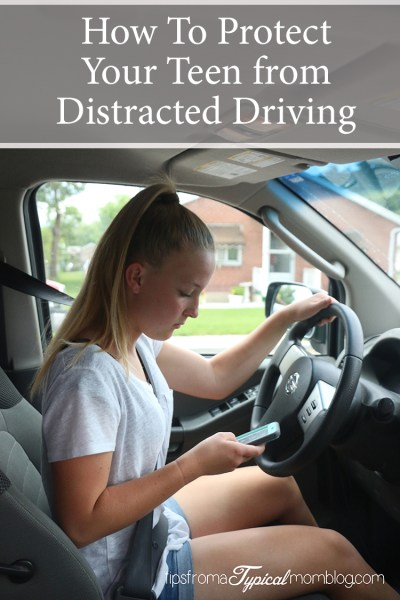 How To Protect Your Teen from Distracted Driving